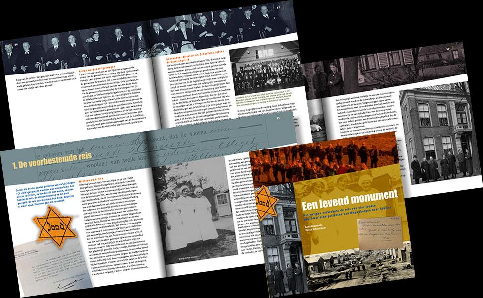 Uitgave Lentis • Over vier joodse patiënten van 'Wagenborgen' tijdens WO II